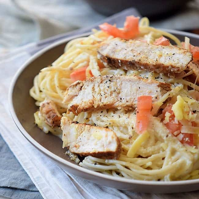 Easy Italian Pasta with Chicken