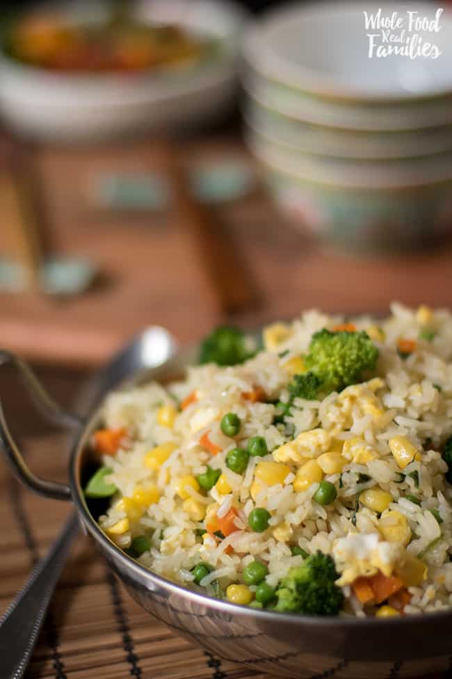 Healthy Vegetable Fried Rice My Nourished Home