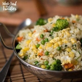 Healthy Veggie Rice Recipe