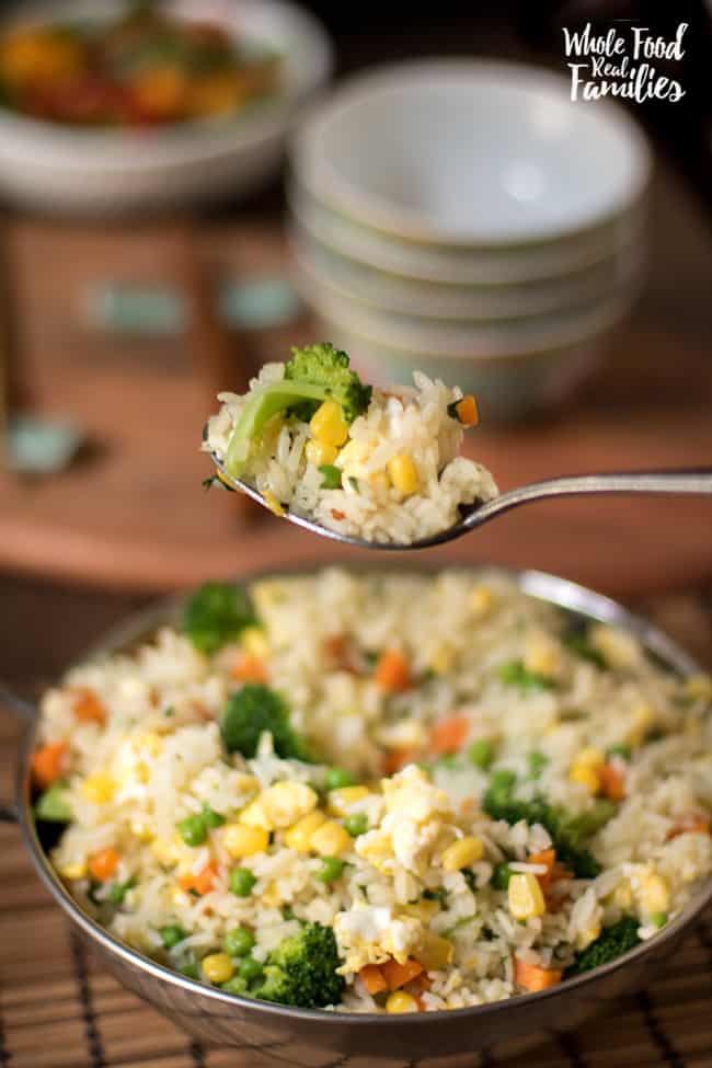 Healthy vegetable fried rice my nourished home healthy fried rice recipe forumfinder Gallery