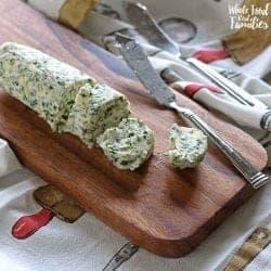 Shallot Herb Compound Butter
