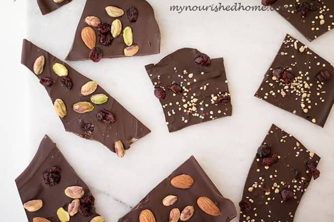 Simple Chocolate Bark Candy Recipe