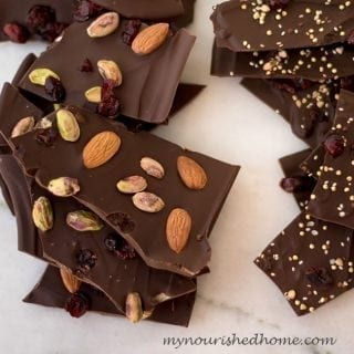 Easy Chocolate Bark Candy