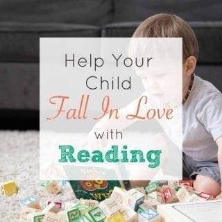 You can help your child fall in love with reading