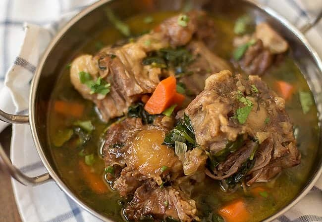 Hearty Oxtail Soup Recipe