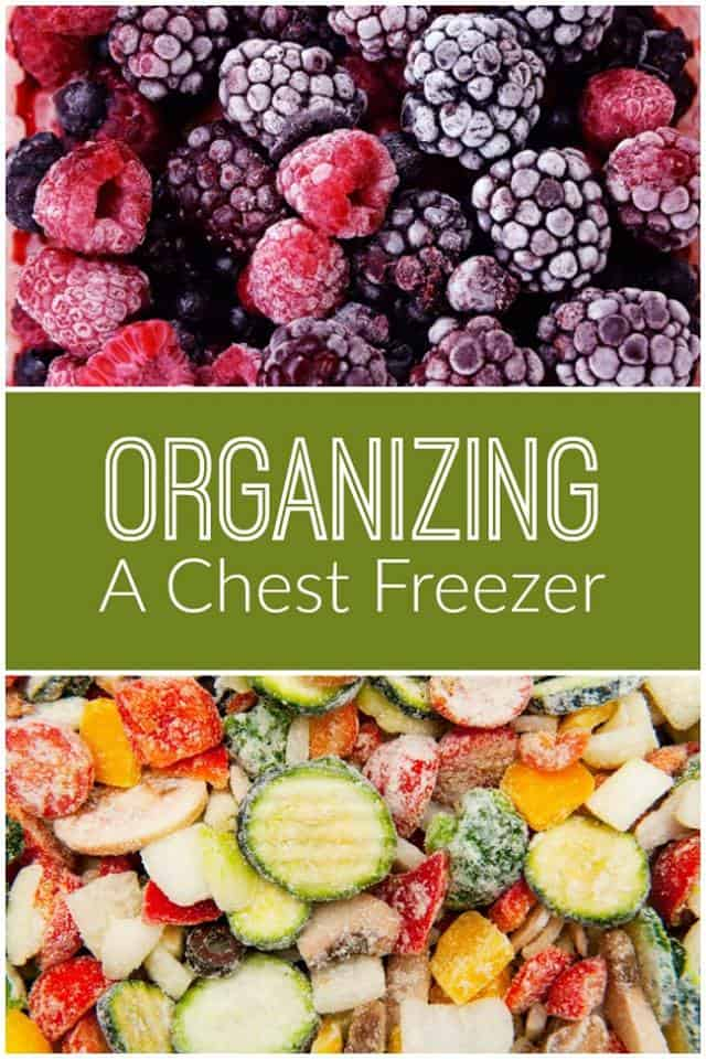 Organzing a Chest freezer