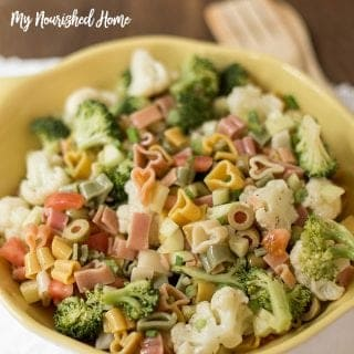 Simple Pasta Salad Recipe