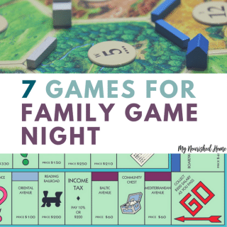 7 Games for Family Game Night