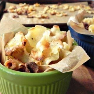 Parsnip Veggie Chips
