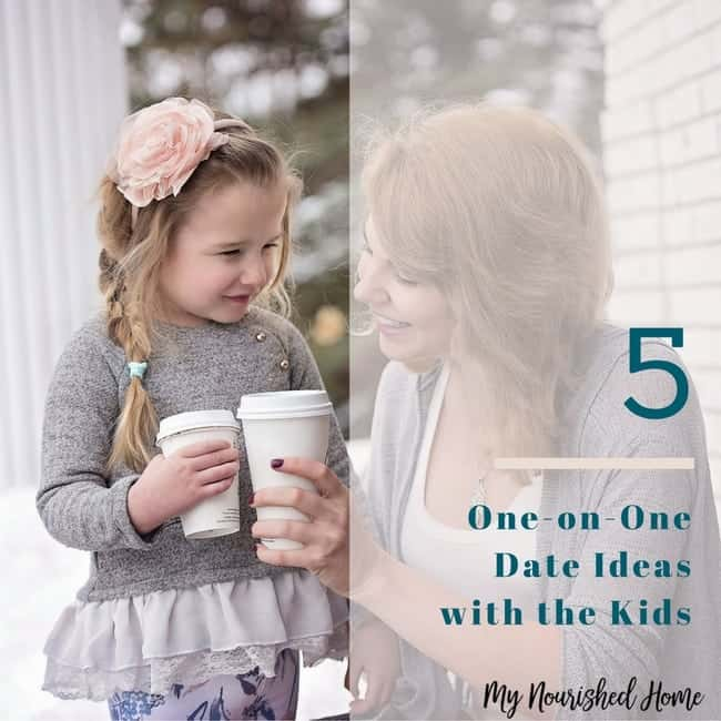 5 one-on-one Date Ideas with the Kids