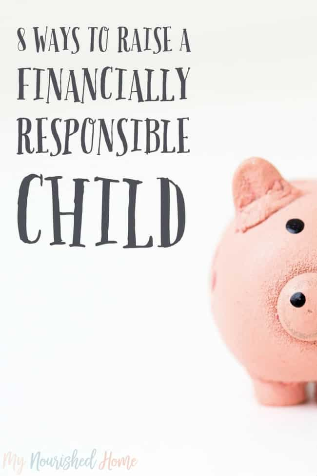 How to raise a financially responsible child