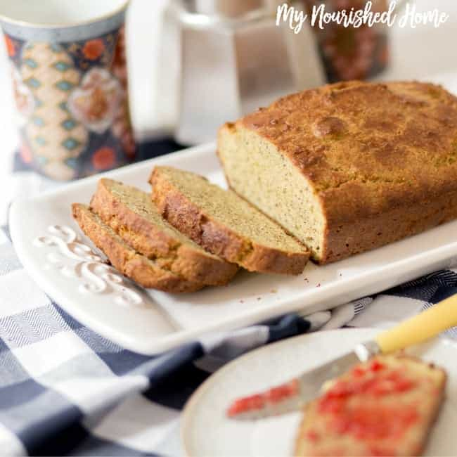 Clean Almond Loaf Bread
