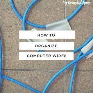 How to Organize the Wires around Your Computer