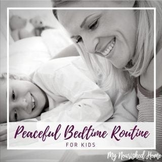 Peaceful Bedtime Routine for Kids