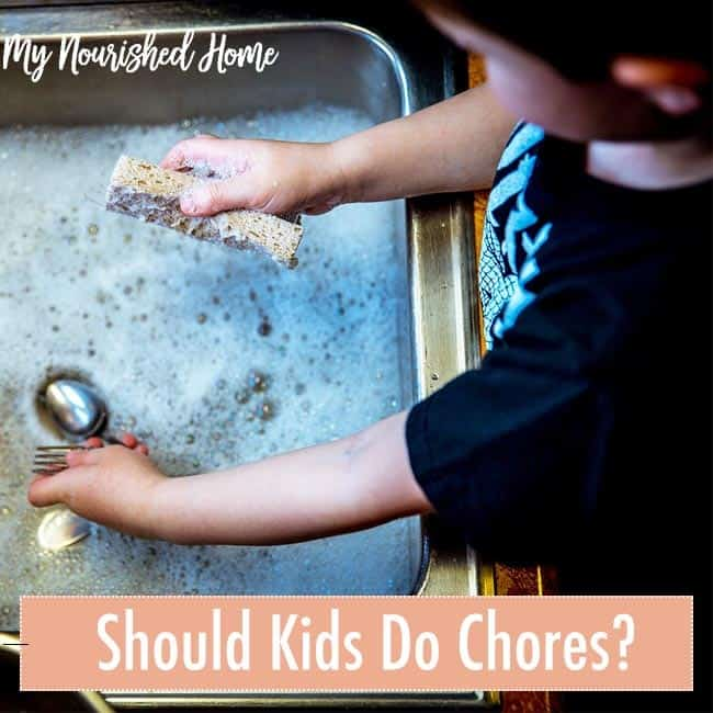 Should Kids Get Paid for Chores?