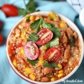 Quinoa Enchilada Bowl