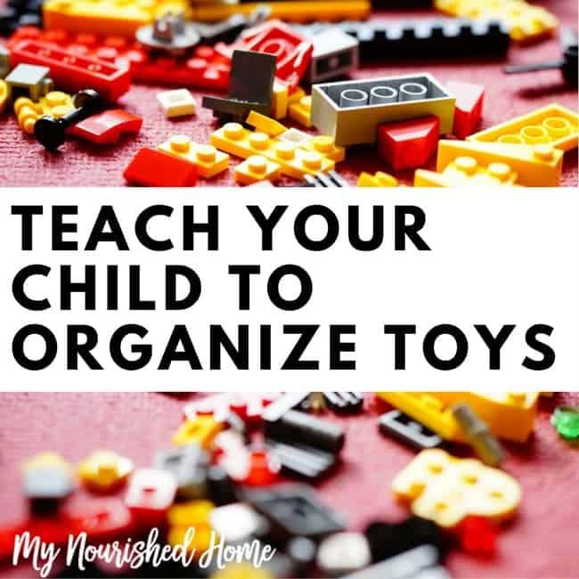 Teach Your Child to Organize Toys