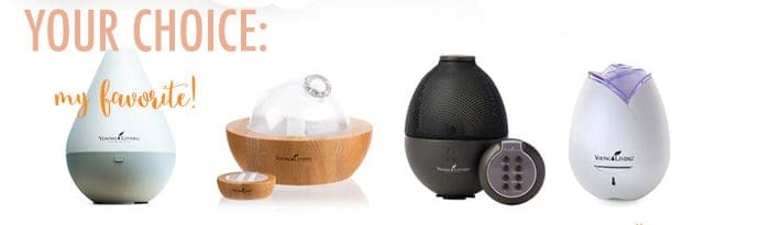 Young Living Essential Oil Diffusers