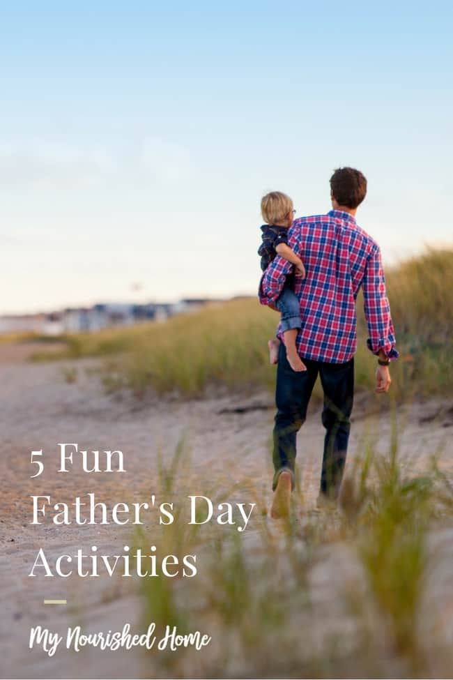 Fun Father's Day Activities the kids can help plan!