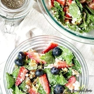 Easy Kale Salad Recipe with Apple Vinaigrette