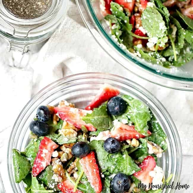 Easy Kale Salad Recipe