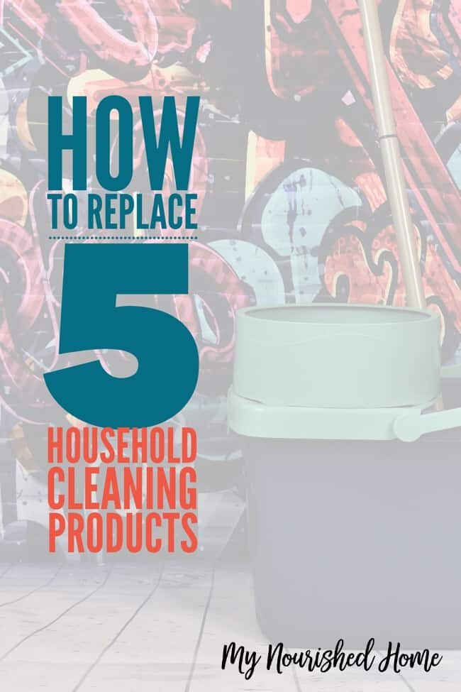 How to Replace 5 Harsh Household Cleaning Products