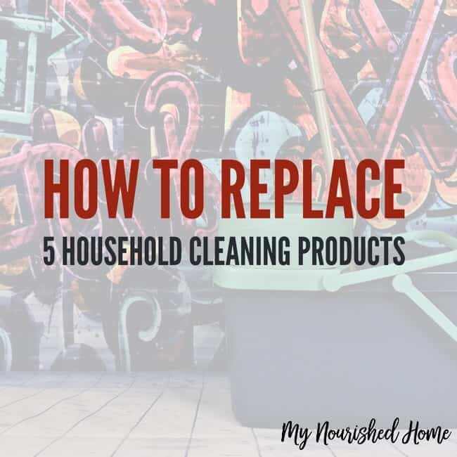 5 Harsh Household Cleaning Products You Can Replace with Essential Oils