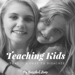 How Do You Teach Kids It's Okay to Disagree