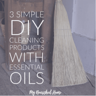 3 Simple DIY Cleaning Products