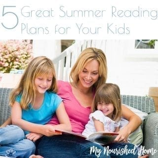 Great Summer Reading Plans for Your Kids