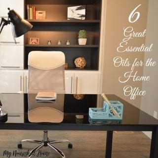 6 Essential Oils for the Home Office