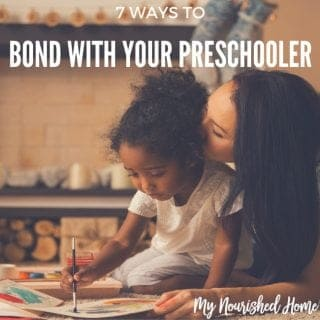 connect with your preschooler