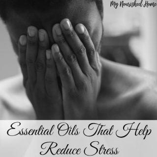 manage stress with Essential oils