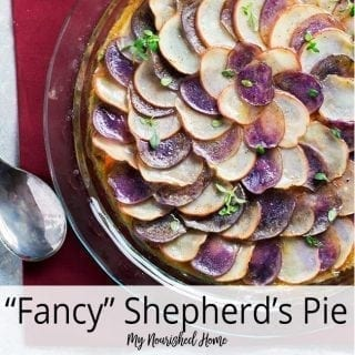 Fancy Shepherd's Pie Recipe