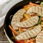 Healthy Chicken and Peppers recipe