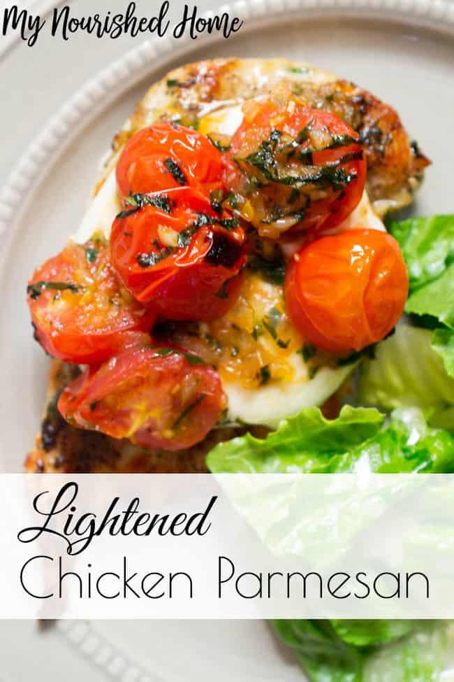 Lightened Chicken Parmesan Recipe
