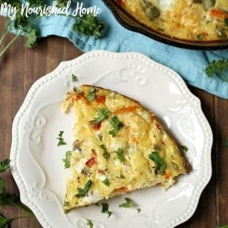 Smoked Gouda Vegetable Frittata Recipe