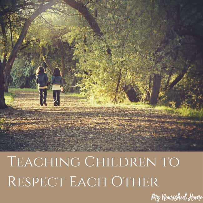 Respect Each Other: Teaching Kids To Respect Each Other