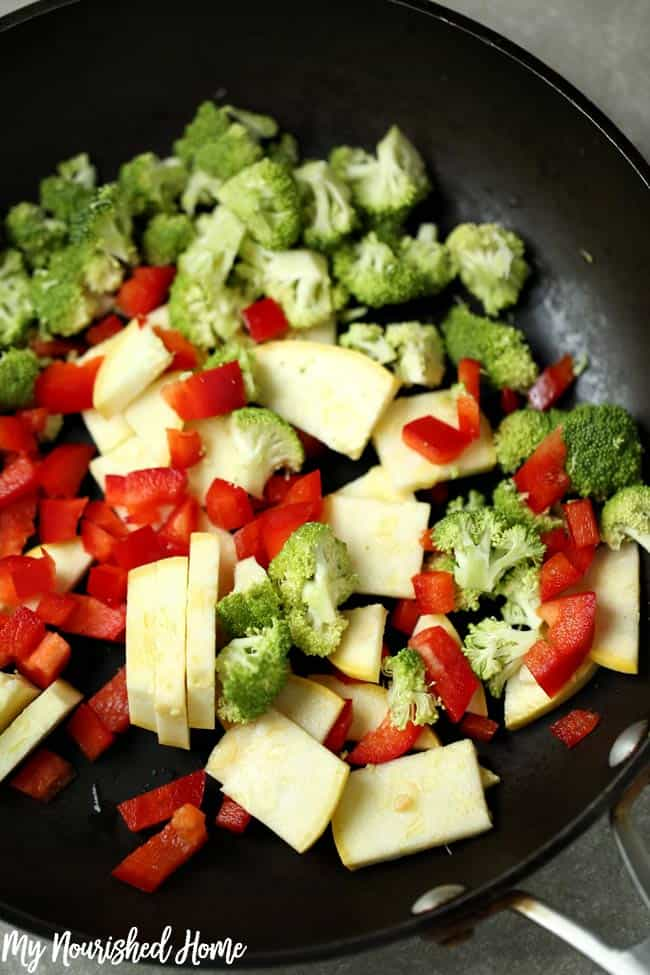 Vegetable Alfredo Recipe
