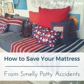 Save Your Mattress From Smelly Potty Accidents
