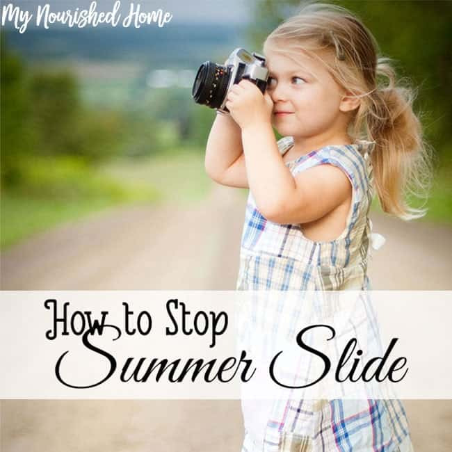 How to Stop Summer Slide