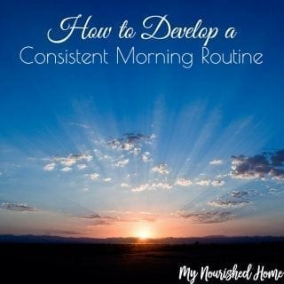 How to Develop a Consistent Morning Routine