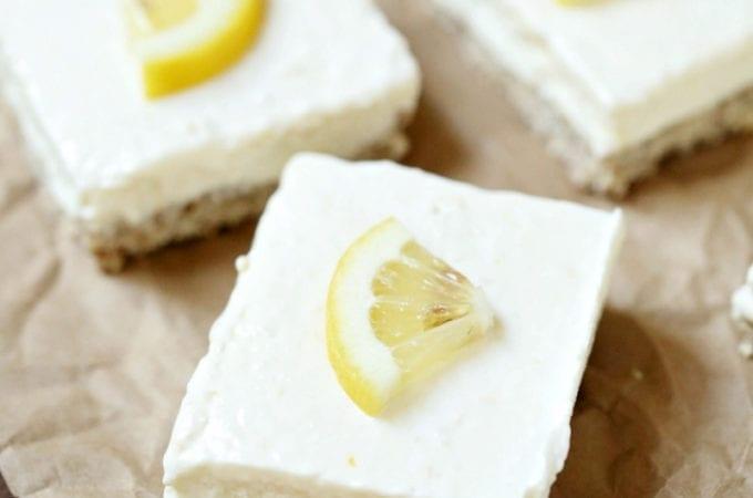 Recipe for Easy Lemon Bars for dessert
