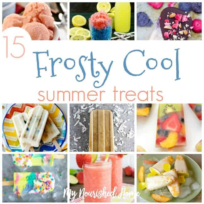 15 Frosty Cool Summer Treats