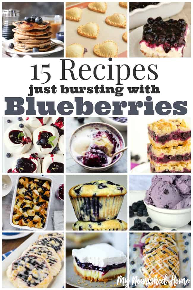 15 Blueberry Recipes Just Bursting With Flavor