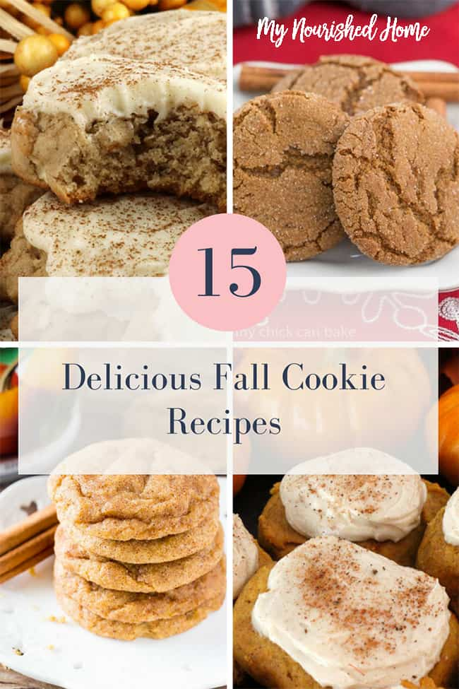 These are my favorite Fall Cookie Recipes!