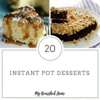 Simple Instant Pot Desserts