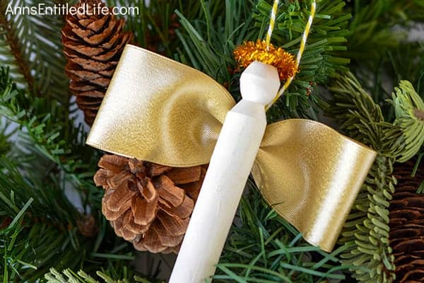 Angel Clothespin Ornament