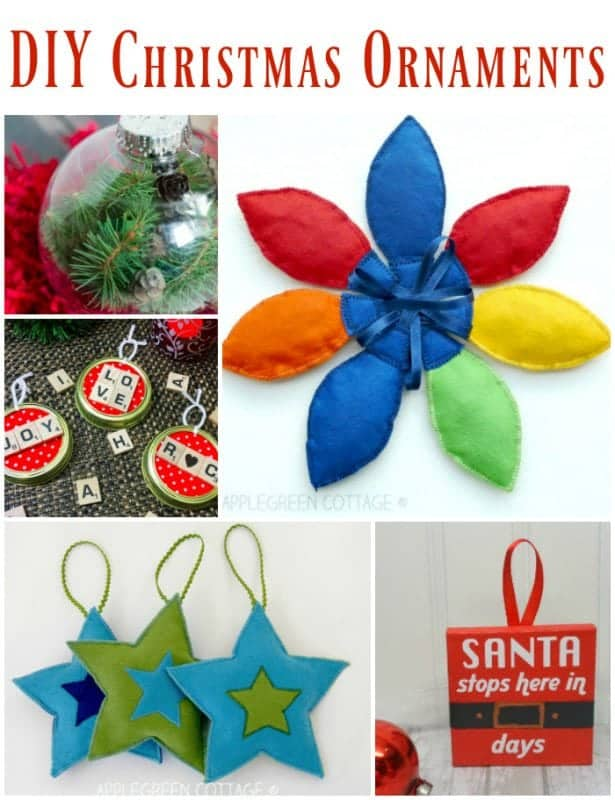 Easy Diy Christmas Ornaments My Nourished Home