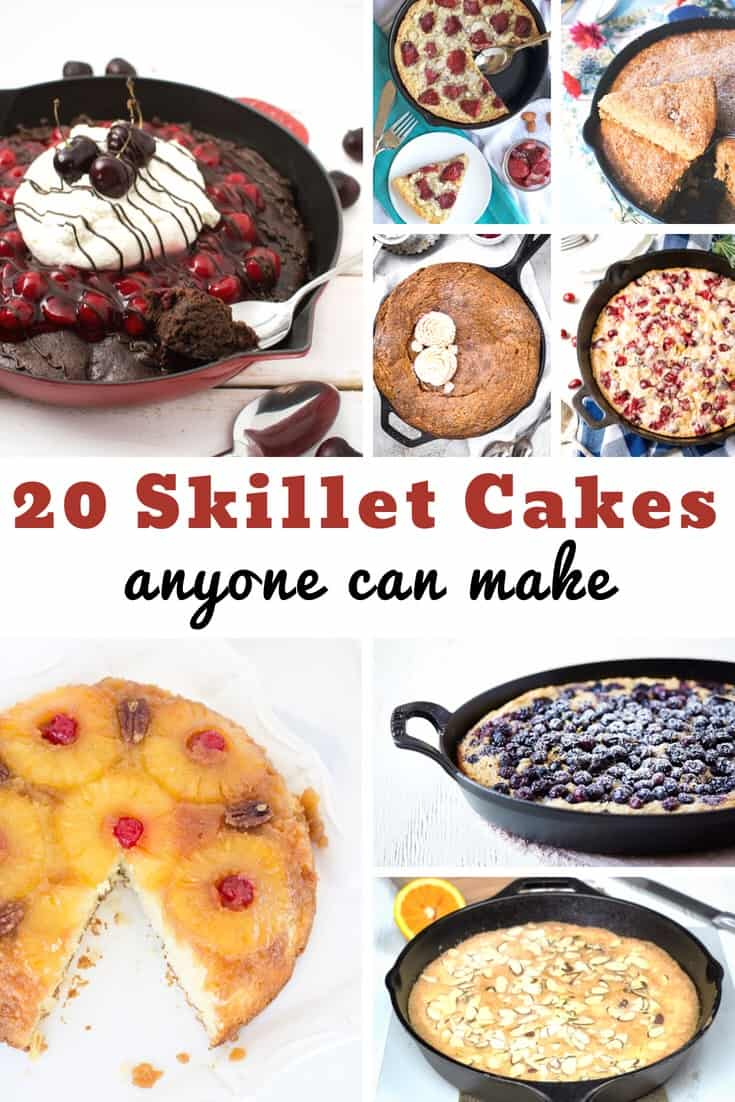 Skillet Cakes for Dessert every single night